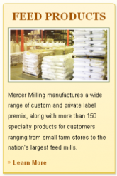Mercer Milling Feed Products