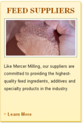Mercer Milling Feed Suppliers